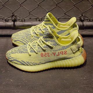アディダス(adidas)の27cm yeezy boost 350 yellow(スニーカー)
