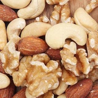 新品 大容量500g クルミたっぷり 無塩 無油 3種の素焼きミックスナッツ (その他)
