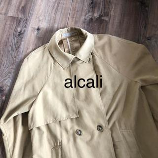 アルカリ(alcali)のalcaliトレンチコート(トレンチコート)