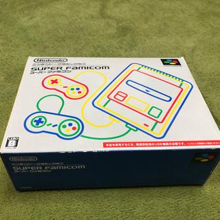 【使用3回程度 美品】ニンテンドークラシックミニ スーパーファミコン(家庭用ゲーム本体)