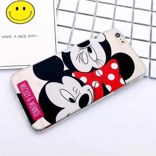 ディズニー(Disney)のiPhone7 iPhone8 ケース ♡ ミッキー ミニー(iPhoneケース)