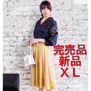 ジーユー(GU)のGU エレガントフリル付きシャツ コンサバ系 シャツ 七分袖 透けない ゆったり(シャツ/ブラウス(長袖/七分))