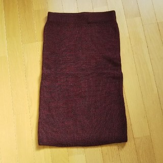 GU - GU ニットスリット入りタイトスカート