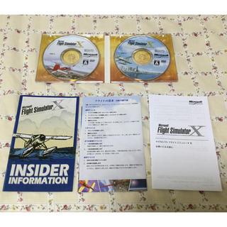 マイクロソフト(Microsoft)のMicrosoft Flight Simulator X(PCゲームソフト)