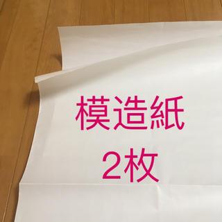 【ぽんた様専用】模造紙 2枚 ★ ゆうパケット発送(オフィス用品一般)