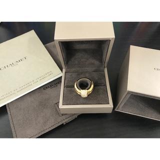 ショーメ(CHAUMET)の美品 ショーメ  デュオリング スモール 定価86万(リング(指輪))