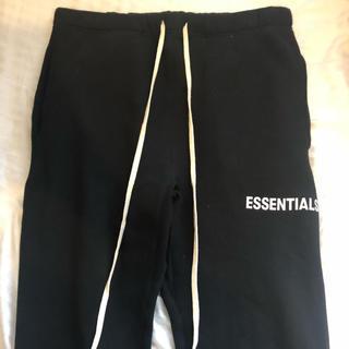 フィアオブゴッド(FEAR OF GOD)のL essentials sweat pants black (その他)