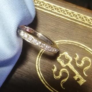 エスオーエスエフピー(S.O.S fp)のシンパシーオブソウル エタニティリング ダイヤモンド K10K ネックレス(リング(指輪))