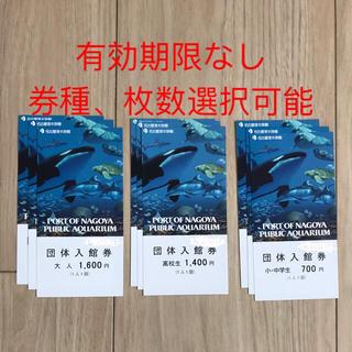 名古屋港水族館 入場券(水族館)