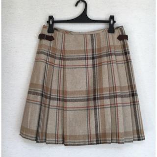 タケオキクチ(TAKEO KIKUCHI)のTAKEO KIKUCHI プリーツスカート(ひざ丈スカート)