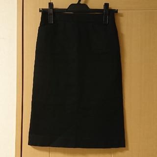 ナチュラルビューティーベーシック(NATURAL BEAUTY BASIC)の★格安 NBB(ナチュラルビューティーベーシック) タイトスカート 黒★(ひざ丈スカート)