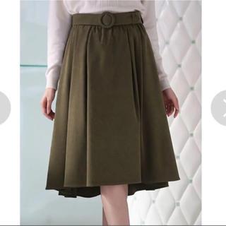イング(INGNI)のスエードスカート   パターン(ひざ丈スカート)