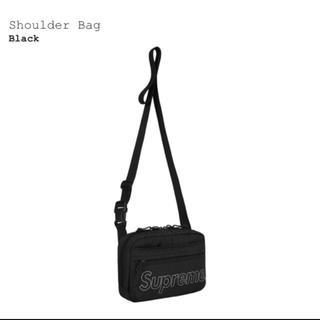シュプリーム(Supreme)のsupreme shoulder bag 黒(ショルダーバッグ)