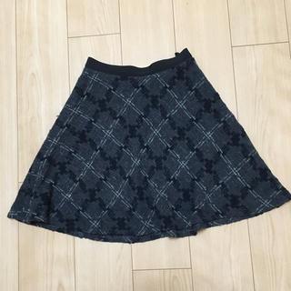 アンタイトル(UNTITLED)のuntitled フレアスカート(ひざ丈スカート)