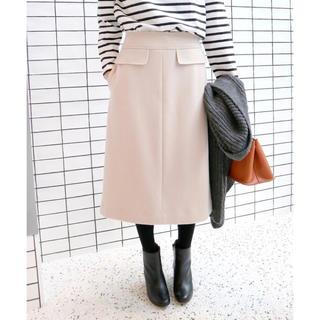 イエナスローブ(IENA SLOBE)のスローブイエナ  メルトンAラインスカート 40(ひざ丈スカート)