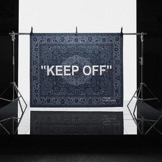 新品 IKEA x Virgil Abloh KEEP OFF Rag mat (ラグ)