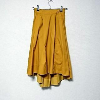 ミスティウーマン(mysty woman)のmysty woman イレギュラーヘムスカート(ひざ丈スカート)