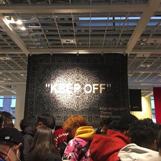 オフホワイト(OFF-WHITE)のOFF WHITE VIRGIL ABLOH x IKEA  イケア(カーペット)