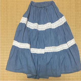 シマムラ(しまむら)のロングスカート しまむら 160㎝(スカート)