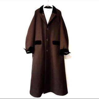 SUNSEA Polyys Wool  Coat   (チェスターコート)