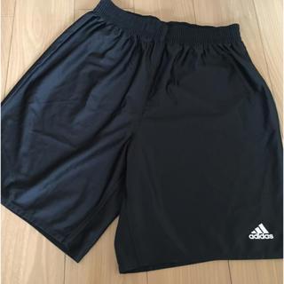 アディダス(adidas)の【ほぼ新品】メンズ アディダス ハーフパンツ adidas 黒(ウェア)