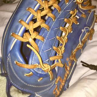 ミズノ(MIZUNO)のプロ野球選手実使用ミズノプログローブ(グローブ)