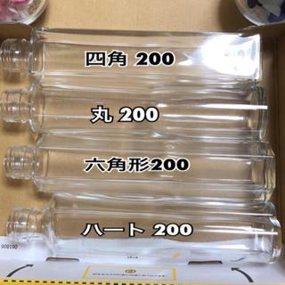 日本製 ハーバリウム ロングボトル 4本set(その他)