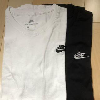 ナイキ(NIKE)のNIKE ロゴ刺繍 Tシャツ 2色セット(Tシャツ/カットソー(半袖/袖なし))