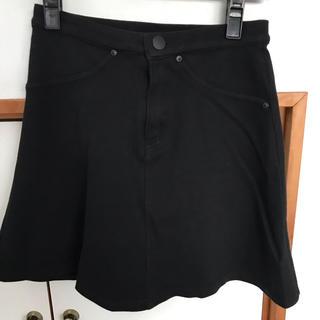 エイチアンドエム(H&M)のストレッチ ミニスカート(ミニスカート)