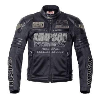 シンプソン(SIMPSON)のシンプソン(SIMPSON) メッシュジャケット M(ライダースジャケット)