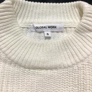 グローバルワーク(GLOBAL WORK)のロングセーター(ニット)