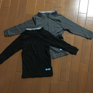 キッズ スキー用アンダーシャツ 100 2枚セット(ウエア)