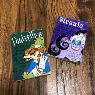 ディズニー(Disney)の92.Disney メモ帳 2冊セット(ノート/メモ帳/ふせん)