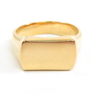 K18/750♪デザインリング★指輪★貴金属★シンプル★12.6g★(リング(指輪))
