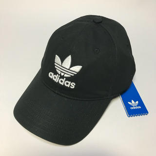 アディダス(adidas)の新品☆adidas【アディダス】オリジナルス キャップ ブラック 帽子(キャップ)