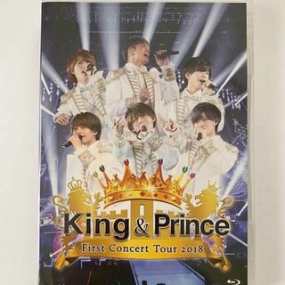 ジャニーズ(Johnny's)の未開封  king &prince 初ライブBlu-ray(ミュージック)