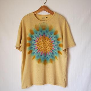 ゴーヘンプ(GO HEMP)のjoint creation 曼荼羅染め ヘンプTシャツ mash gohemp(Tシャツ/カットソー(半袖/袖なし))