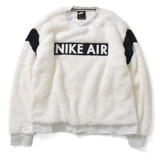 ナイキ(NIKE)のM 白 ナイキ NIKE エアシーズナルクルー NIKE AIR(スウェット)