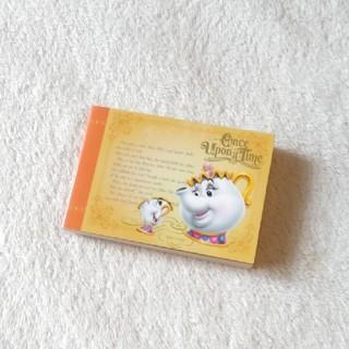 ディズニー(Disney)のディズニー メモ用紙(ノート/メモ帳/ふせん)