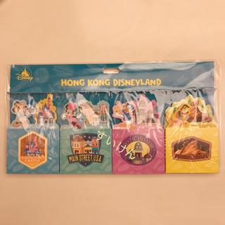 ディズニー(Disney)の香港ディズニー メモ メモセット ミッキー ミニー ドナルド プルート(ノート/メモ帳/ふせん)