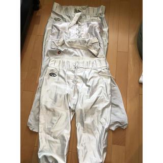 アメフト フッパン 4枚セット アメリカンフットボール ズボン パンツ 白(アメリカンフットボール)