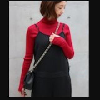 ノーブル(Noble)の【美品】noble 2017AW ホールガーメントタートルネックセーター(ニット/セーター)