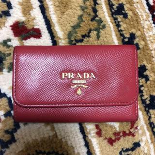 プラダ(PRADA)のプラダ キーケース 箱付き 難あり(キーケース)