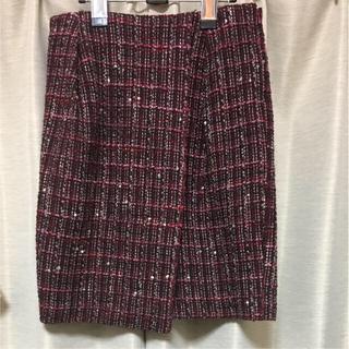 デプレ(DES PRES)のデプレ DES PRES ツイード スカート(ひざ丈スカート)