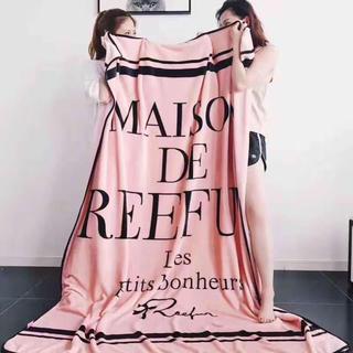 メゾンドリーファー(Maison de Reefur)の【大人気!新品未使用品!】Maison de Reefurもこもこブランケット(おくるみ/ブランケット)