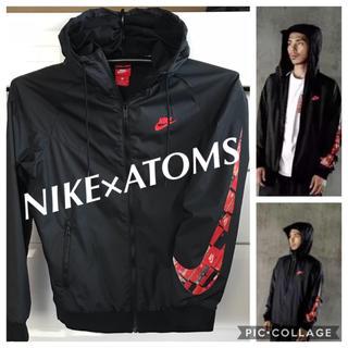 NIKE - NIKE×ATOMS ナイロンジャケット