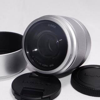 パナソニック(Panasonic)の⭐️新品⭐️panasonic パナソニック LUMIX G 25mm/F1.7(レンズ(単焦点))