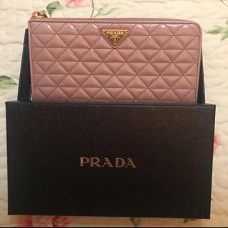 プラダ(PRADA)のPRADA 財布 ピンク(財布)