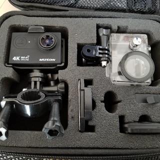 ゴープロ(GoPro)のMUSON アクションカメラ ウェアブルカメラ(ビデオカメラ)