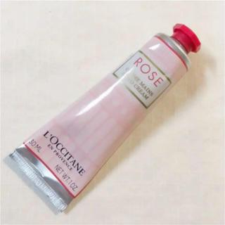 ロクシタン(L'OCCITANE)のロクシタン ローズハンドクリーム 新しい香り 新品未使用 袋・シール付き(ハンドクリーム)